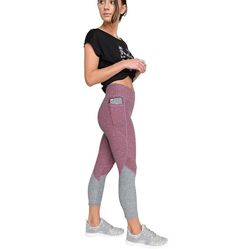 Ultimate High Waist Colorblock Legging  pink