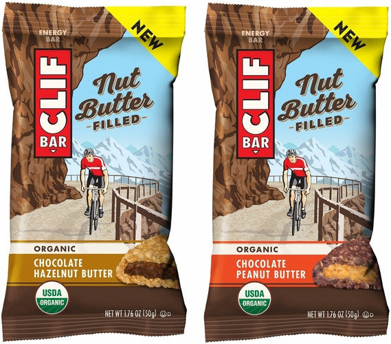 CLIF Bars Nut Butter Filled - ORGANIC ENERGY