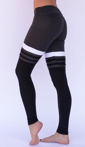 thigh high sock leggings