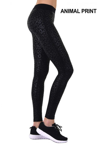 ACTIVEWEAR CHEETAH SEAMLESS WORKOUT LEGGINGS - prettyfit