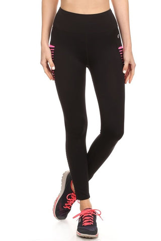 ACTIVEWEAR RIPPED WARRIOR WORKOUT LEGGINGS