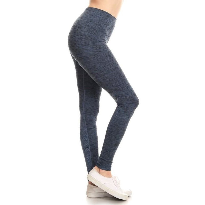ACTIVEWEAR DIFFERENT KIND OF SEAMLESS LEGGINGS - Blue-prettyfitbox.com