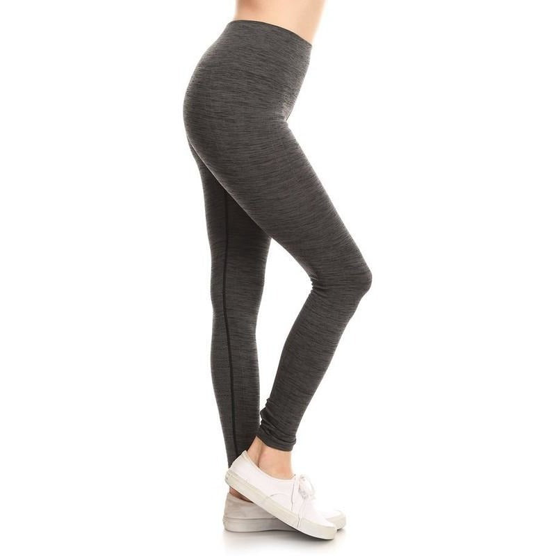 seamless workout leggings super grey prettyfitbox