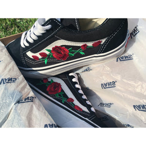 rose patch vans amazon