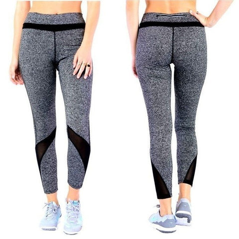 ACTIVEWEAR HYBRID WORKOUT LEGGINGS WITH MESH ACCENT   prettyfitbox.com