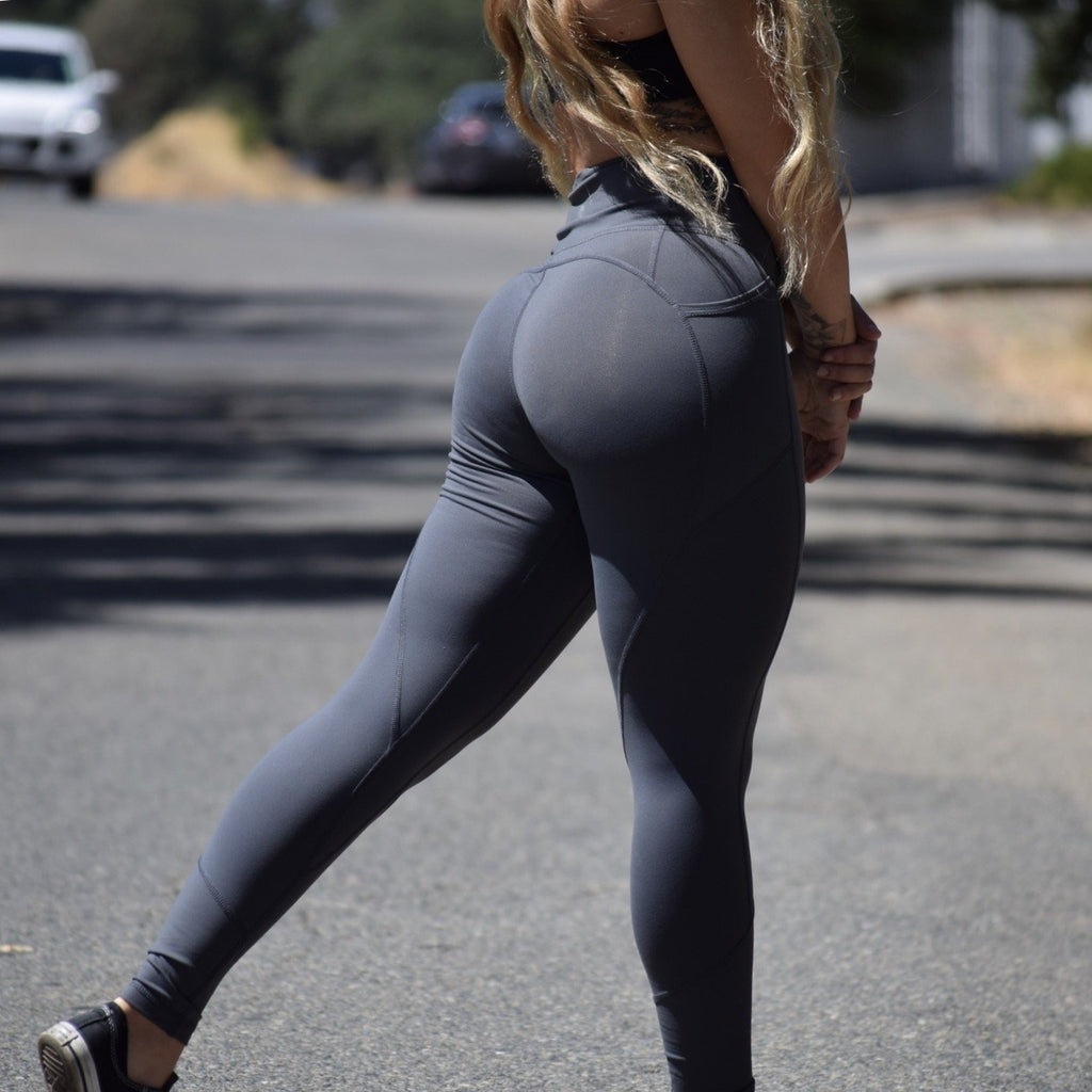 ACTIVEWEAR PREMIUM STEEL HEART BOOTY LEGGINGS