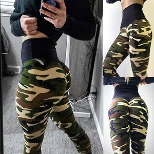 ACTIVEWEAR CAMOUFLAGE LEGGINGS - prettyfitbox - cheap activewear