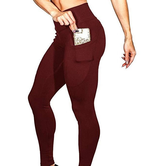 tyc-premium-branded-leggings-maroon