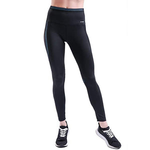 ACTIVEWEAR COLOR BLOCK LEGGINGS - Blue