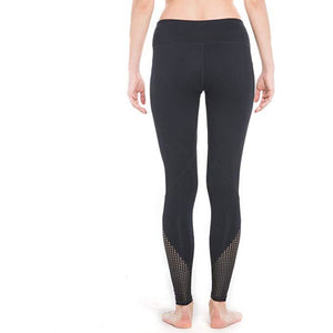 ACTIVEWEAR MESH CUTOUT LEGGINGS