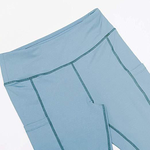 ACTIVEWEAR PREMIUM CLASSIC LEGGINGS - Pastel Blue