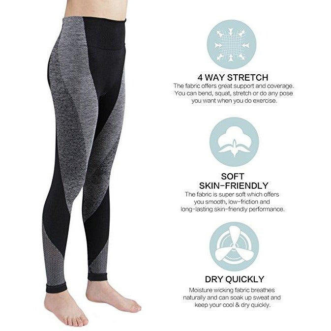 ACTIVEWEAR HIGH-WAIST SEAMLESS LIFT LEGGINGS-prettyfitbox.com