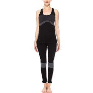 ACTIVEWEAR SEAMLESS LEGGINGS BLACK - Active Set