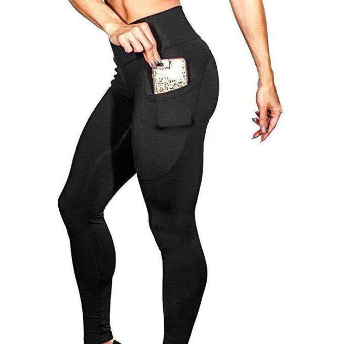 ACTIVEWEAR PRETTY FIT PREMIUM LEGGINGS - Black-prettyfitbox.com