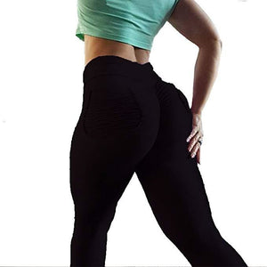ACTIVEWEAR SCRUNCH BUTT LEGGINGS - Back Pockets-prettyfitbox.com