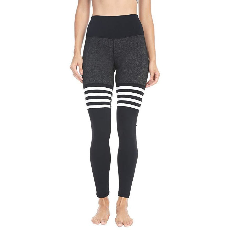 ACTIVEWEAR HIGH SOCK LEGGINGS BLACK v3-prettyfitbox.com