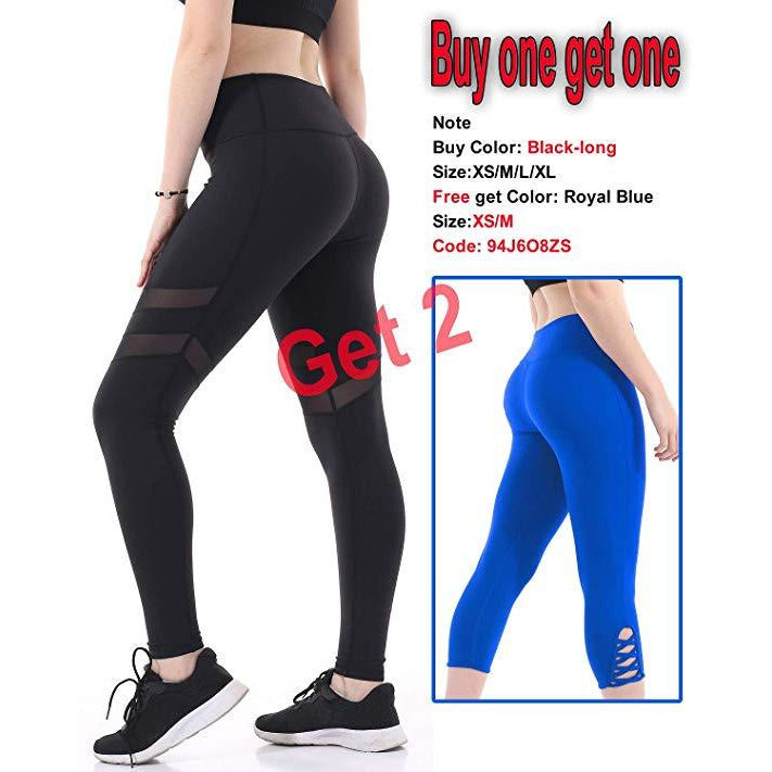 ACTIVEWEAR FLASH LEGGINGS - Buy 1 Get 1 Free