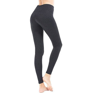 ACTIVEWEAR HIGH WAIST POWER FLEX LEGGINGS - Grey-prettyfitbox.com