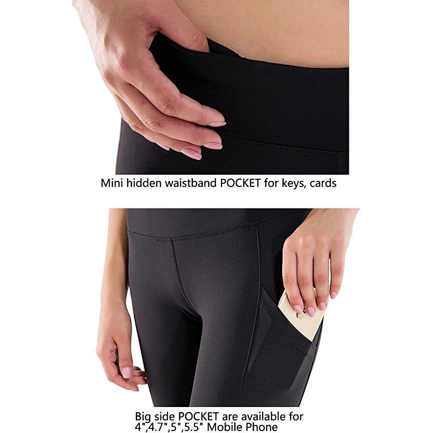 Womens Activewear Workout Compression Shorts