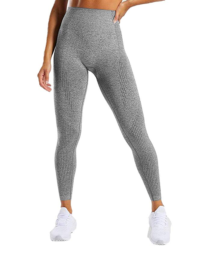 ACTIVEWEAR SEAMLESS LEGGINGS - Grey