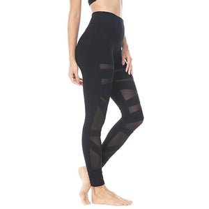 ACTIVEWEAR MESH PANEL LEGGINGS-prettyfitbox.com