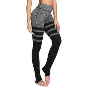ACTIVEWEAR HIGH SOCK LEGGINGS - V2