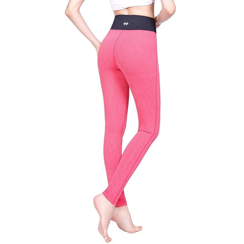 ACTIVEWEAR FREE TO FLOW LEGGINGS - Pink - prettyfitbox - cheap activewear