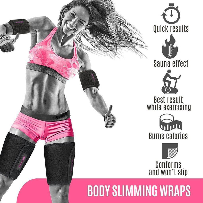 IOX SWEAT Waist Trimmer Belt - Slimmer Kit-prettyfitbox.com