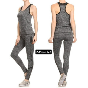 ACTIVEWEAR SPORTY LEGGINGS   Workout Set   prettyfitbox.com
