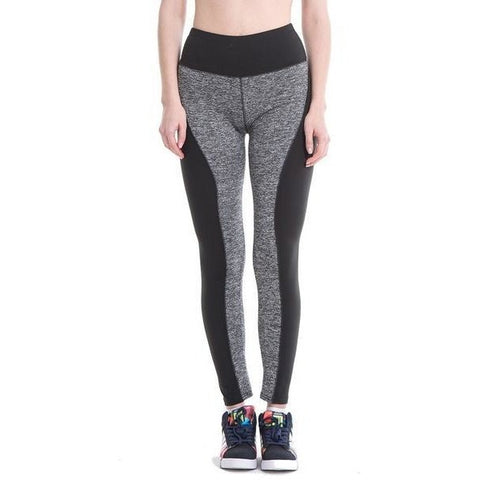 HIGH WAIST TWO TONE LEGGINGS