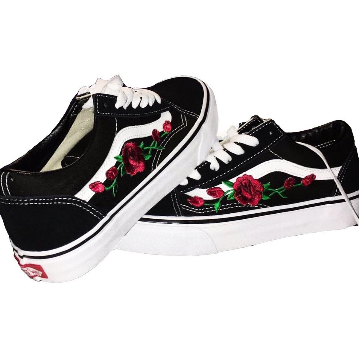 vans old school rose