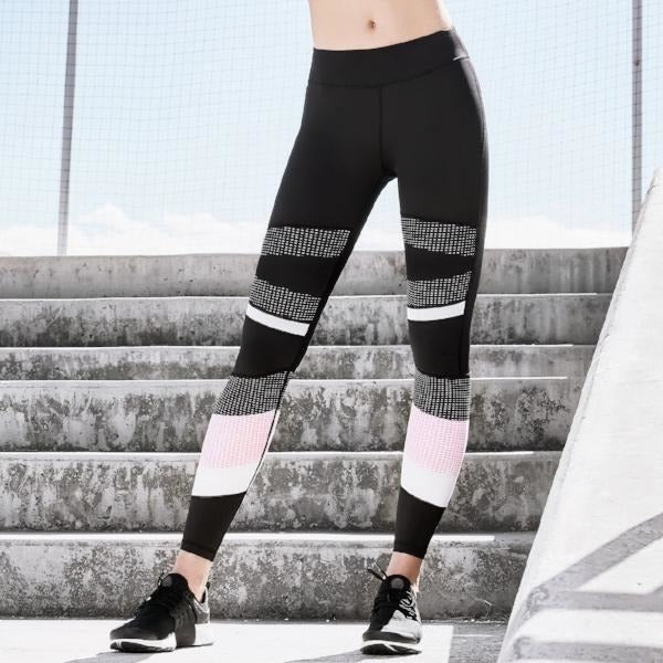 ACTIVEWEAR COLOR BLOCK LEGGINGS-prettyfitbox.com
