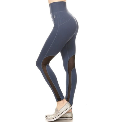 ACTIVEWEAR HIGH WAISTED SEAMLESS LEGGINGS-prettyfitbox.com