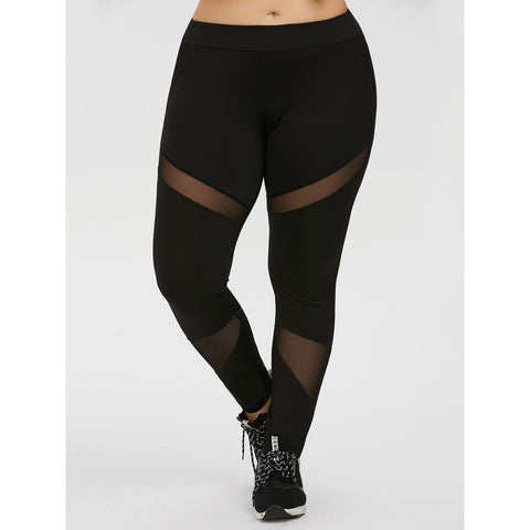 Plus Size Axial Leggings