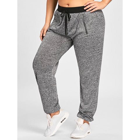 plus size joggers for cheap