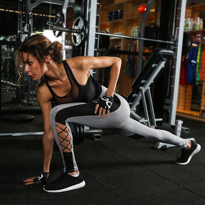 ACTIVEWEAR CRISS CROSS LEGGINGS-prettyfitbox.com