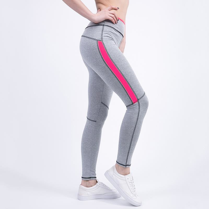 Womens Active Leggings - Pink