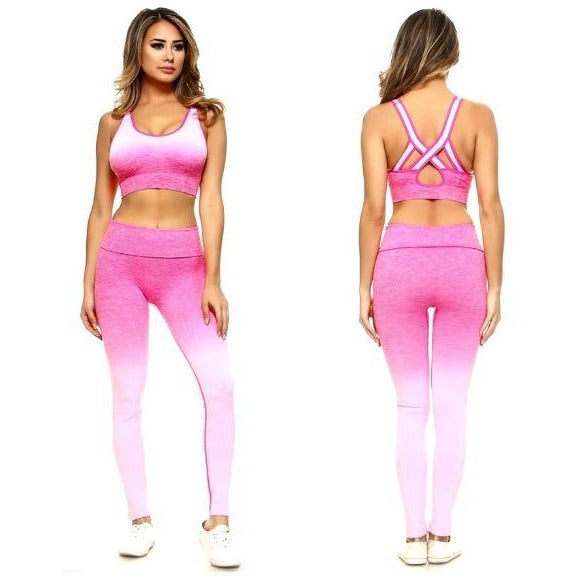 94664345bc Gymshark Ombre Seamless Leggings - Chalk PINK Seamless Leggings