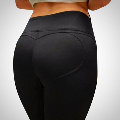 ACTIVEWEAR HEART SHAPED LEGGINGS - prettyfitbox