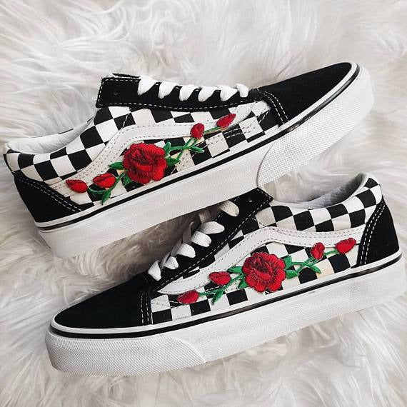 vans checkerboard limited edition