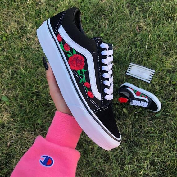 Vans 'n Roses Old Skool Limited Edition - Prettyfitbox