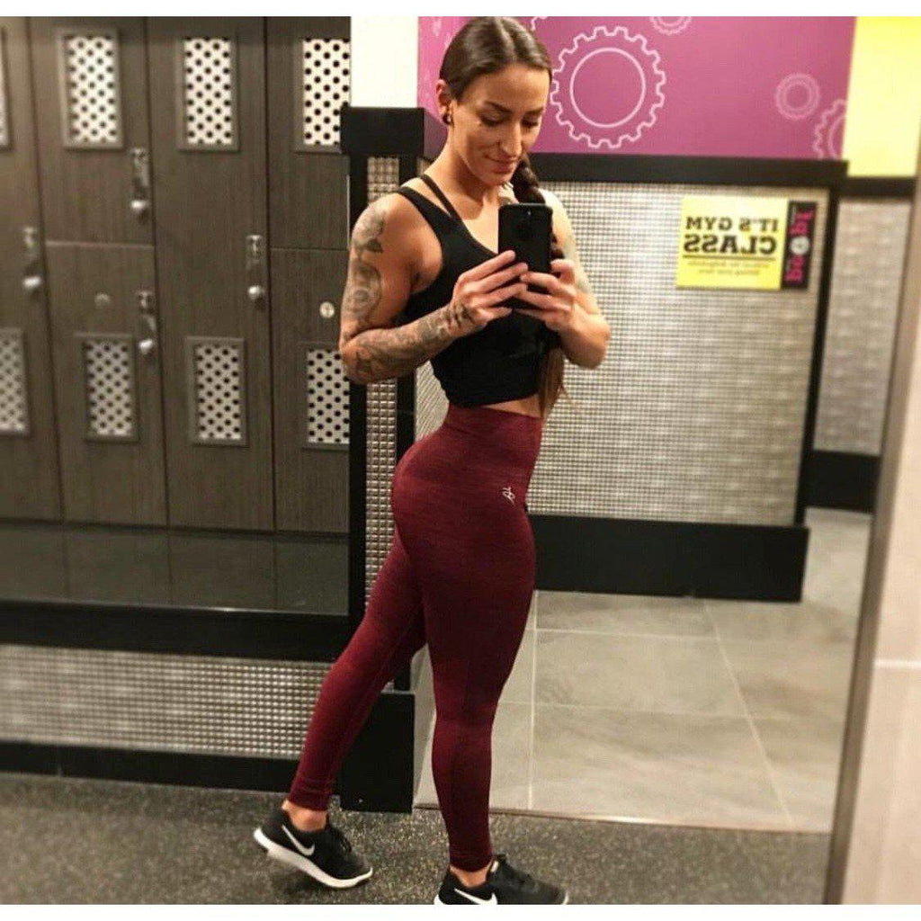seamless leggings - cheap workout clothes - Prettyfitbox
