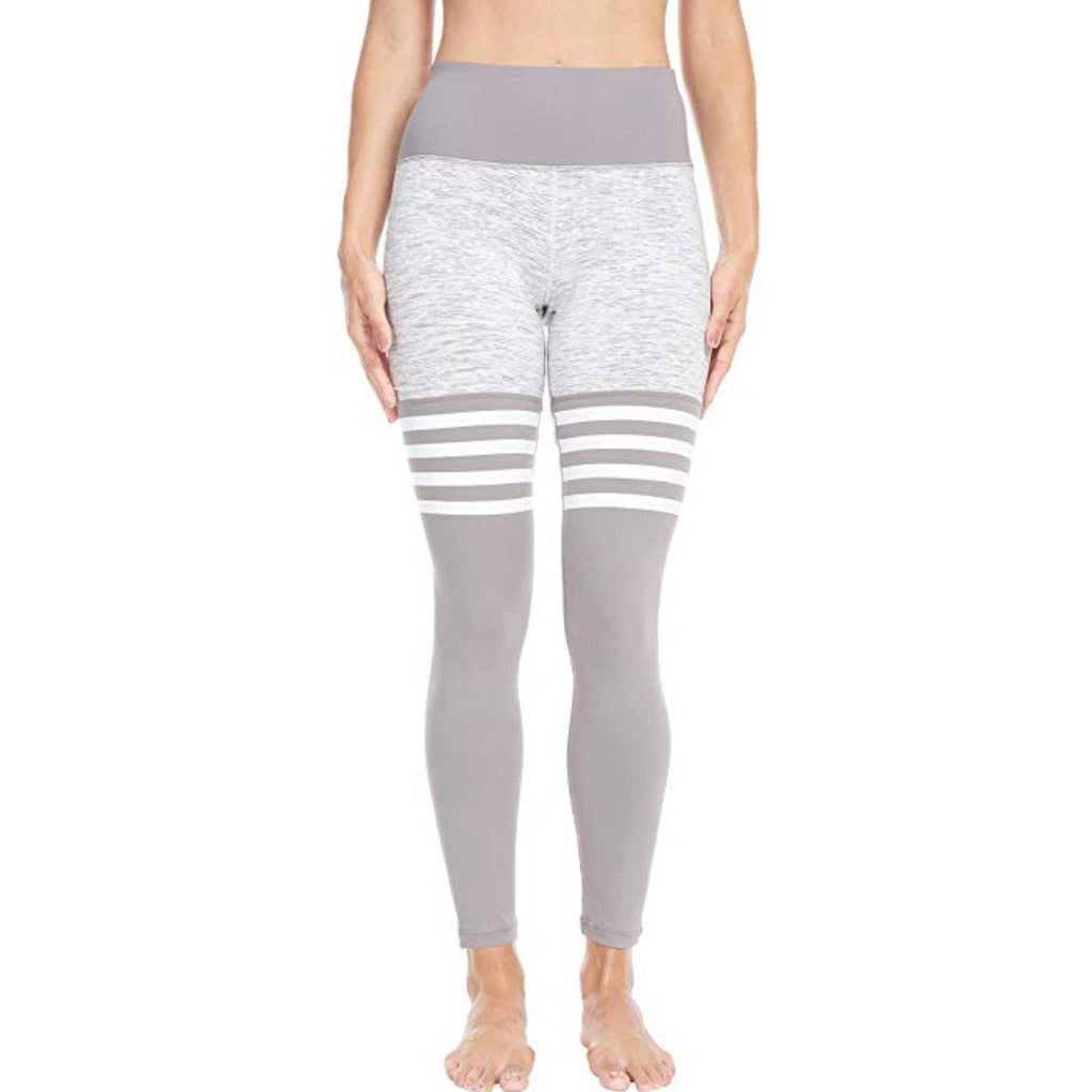 ACTIVEWEAR HIGH SOCK LEGGINGS WHITE v3-prettyfitbox.com