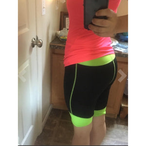Neoprene High Waist Slimming Sauna Sweat Shorts-prettyfitbox.com
