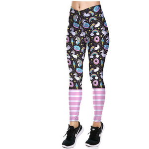 ACTIVEWEAR HIGH SOCK LEGGINGS - Cheat Day Edition-prettyfitbox.com