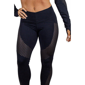 ACTIVEWEAR MESH 'N' DOT LEGGINGS-prettyfitbox