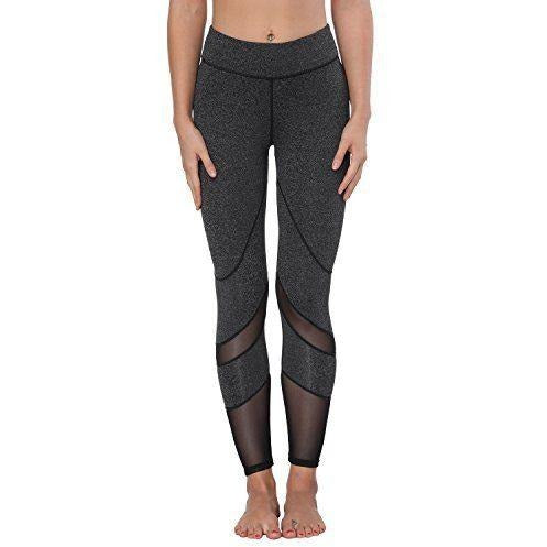 ACTIVEWEAR POWER MESH PANEL LEGGINGS-prettyfitbox.com