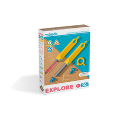 Makedo cardboard construction system - EXPLORE kit