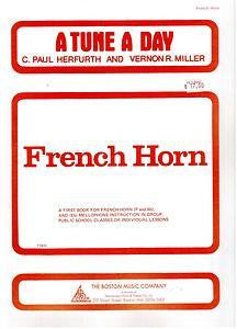 A Tune A Day for F/Bb French Horn & Eb Mellophone