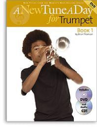 A New Tune A Day for Trumpet Bk.1 w CD/DVD